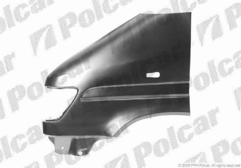 Polcar 506201 - Крыло mavto.com.ua