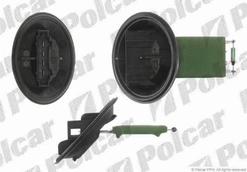 Polcar 6913KST-1 - Сопротивление, реле, вентилятор салона mavto.com.ua