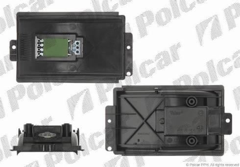 Polcar 1323KST-1 - Сопротивление, реле, вентилятор салона mavto.com.ua