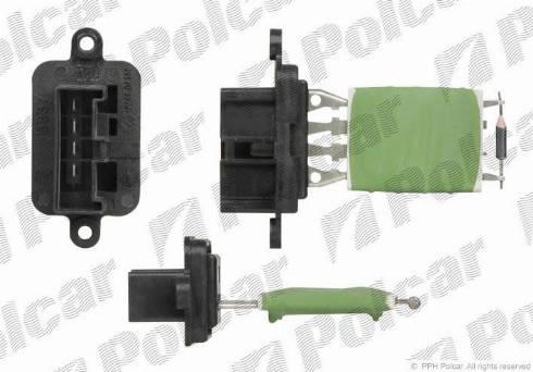 Polcar 3002KST-3 - Сопротивление, реле, вентилятор салона mavto.com.ua