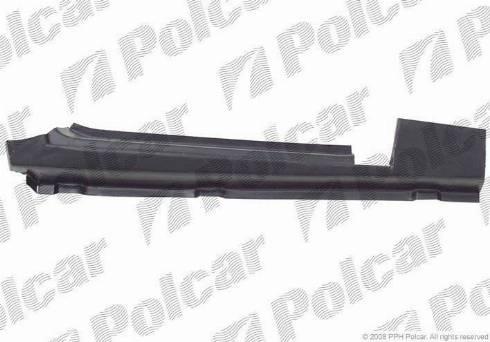 Polcar 324541-2 - Подножка, накладка порога mavto.com.ua
