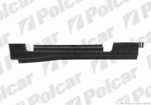 Polcar 324742-4 - Подножка, накладка порога mavto.com.ua