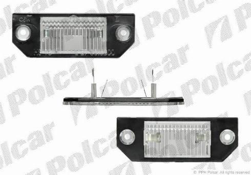 Polcar 3202959E - Лампа, входное освещение mavto.com.ua