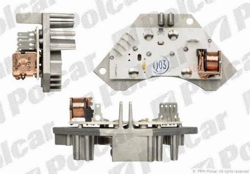 Polcar 2326KST2 - Блок управления, отопление / вентиляция mavto.com.ua