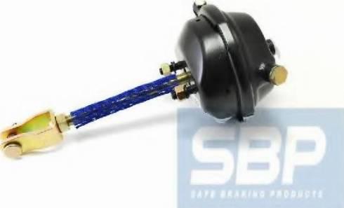 SBP 05-BCT16LS - Тормозная пневматическая камера mavto.com.ua
