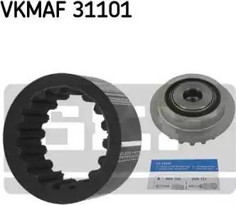 SKF VKMAF 31101 - Комплект эластичной муфты сцепления mavto.com.ua