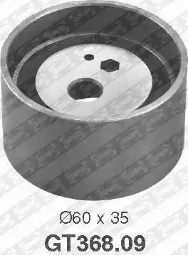 SNR GT368.09 - Натяжной ролик, ремень ГРМ mavto.com.ua