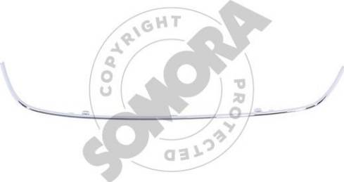 Somora 351126C - Рамка, облицовка радиатора mavto.com.ua
