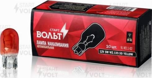 StartVOLT VL-W2.1-02 - Лампа накаливания, стояночные огни / габаритные фонари mavto.com.ua