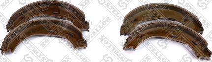 Stellox 069 101-SX - Комплект тормозных башмаков, барабанные mavto.com.ua