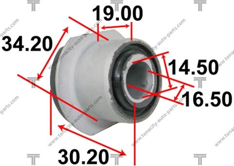 Tenacity AAMTO1113 - Втулка, вал рулевого колеса mavto.com.ua
