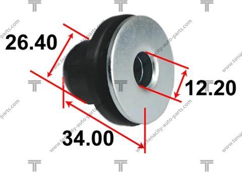 Tenacity AAMTO1128 - Втулка, вал рулевого колеса mavto.com.ua