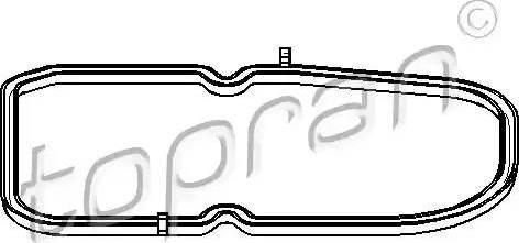 Topran 400 133 - Прокладка, масляный поддон автоматической коробки передач mavto.com.ua