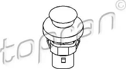 Topran 104035 - Выключатель, контакт двери mavto.com.ua