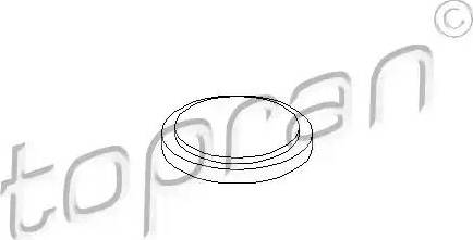 Topran 100 084 - Фланцевая крышка, ступенчатая коробка передач mavto.com.ua