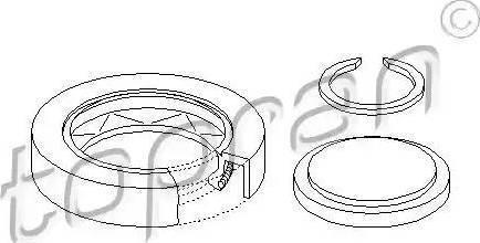 Topran 100 087 - Комплект ремонта, фланец автомат. коробки передач mavto.com.ua
