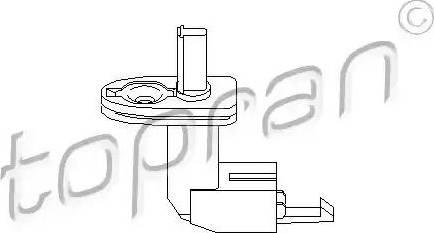Topran 108887 - Выключатель, контакт двери mavto.com.ua