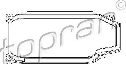 Topran 108 754 - Прокладка, масляный поддон автоматической коробки передач mavto.com.ua