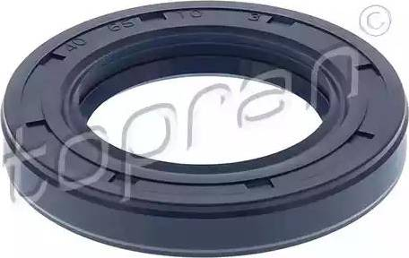 Topran 107285 - Уплотнительное кольцо вала, приводной вал mavto.com.ua