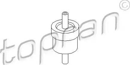 Topran 111 298 - Клапан, вакуумный насос mavto.com.ua