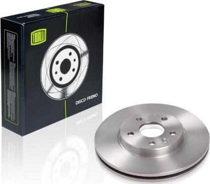 Trialli DF 062104 - Экономичный тормозной диск mavto.com.ua