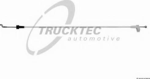 Trucktec Automotive 02.54.054 - Трос, замок двери mavto.com.ua