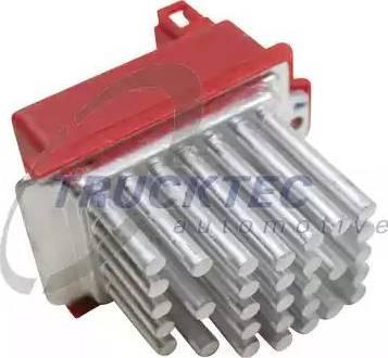 Trucktec Automotive 07.59.003 - Блок управления, отопление / вентиляция mavto.com.ua