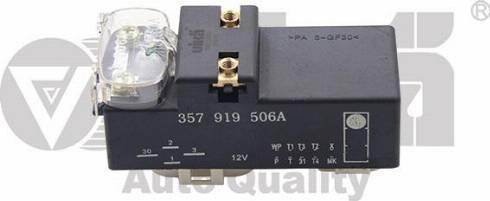 Vika 99190020001 - Реле, продольный наклон шкворня вентилятора mavto.com.ua