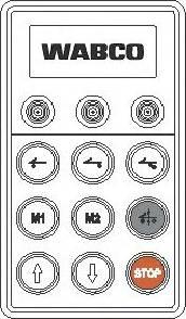 Wabco 446 056 117 0 - Блок управления, пневматическая подвеска mavto.com.ua