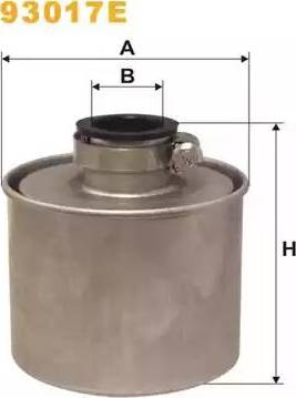 WIX Filters 93017E - Воздушный фильтр, компрессор - подсос воздуха mavto.com.ua
