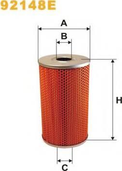 WIX Filters 92148E - Фильтр, Гидравлическая система привода рабочего оборудования mavto.com.ua